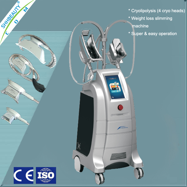 High Quality cryolipolisis machine with 4 cryo handles ETG50-4S
