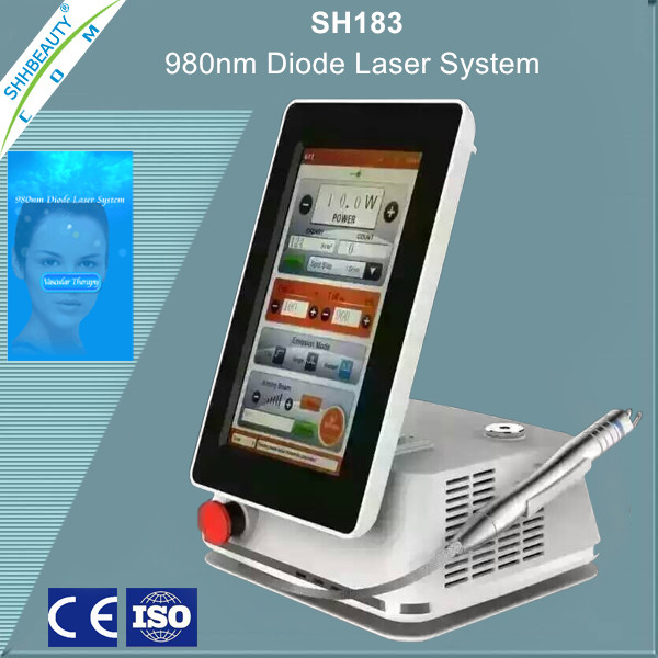 980nm laser device preventing varicose veins/leg vein pain/spider veins cheese+